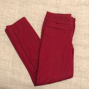 Anthropologie Pants - Anthropologie The Essential Slim cropped trousers